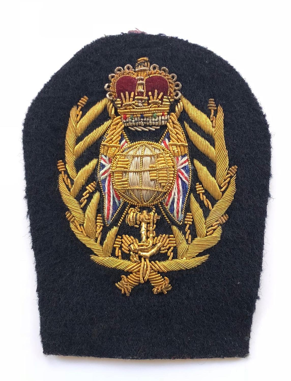 Royal Marines Colour Sergeant's Arm Badge