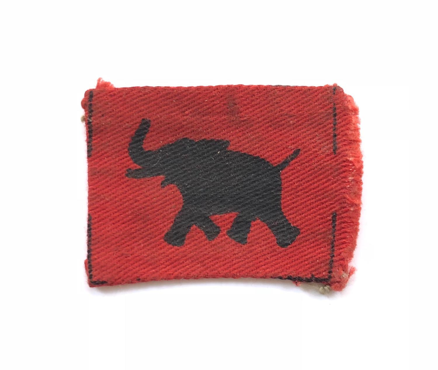WW2 4th Army Corps Printed Formation Badge