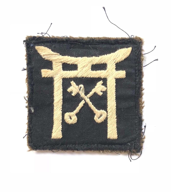 Korean War Period 25th Independent Infantry Brigade formation