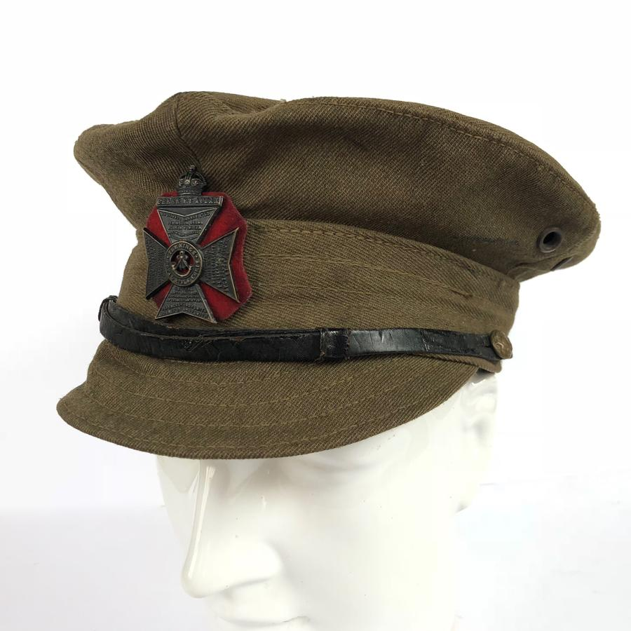 WW1 King's Royal Rifle Corps Other Rank's Denim Trench Cap