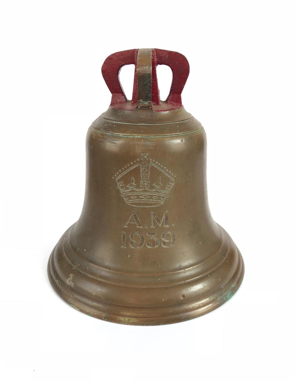 "WW2 RAF Battle of Britain Period 1939 Dated ""Scramble Bell"""
