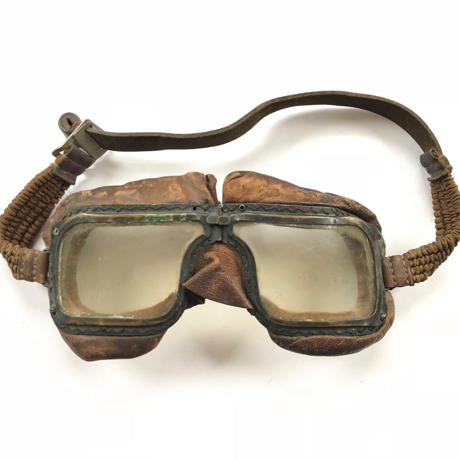 RAF WW2 Battle of Britain Period MKIII Flying Goggles.