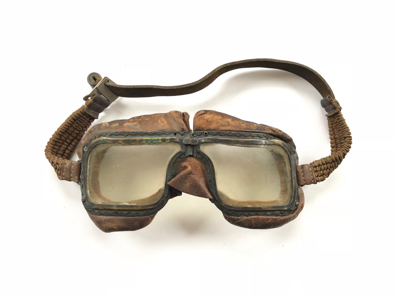 RAF WW2 Battle of Britain Period MKIII Flying Goggles.