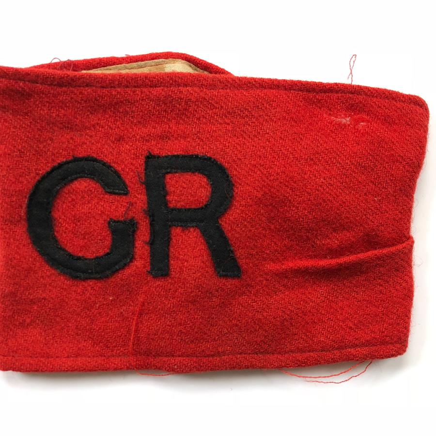 WW1 1st Oxfordshire Volunteer Regiment Armband