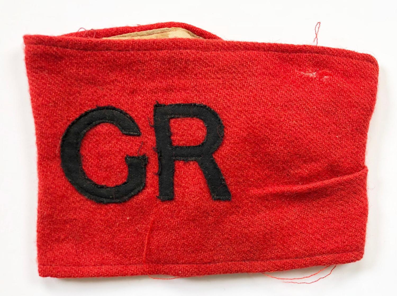 WW1 1st Oxfordshire Volunteer Regiment Armband