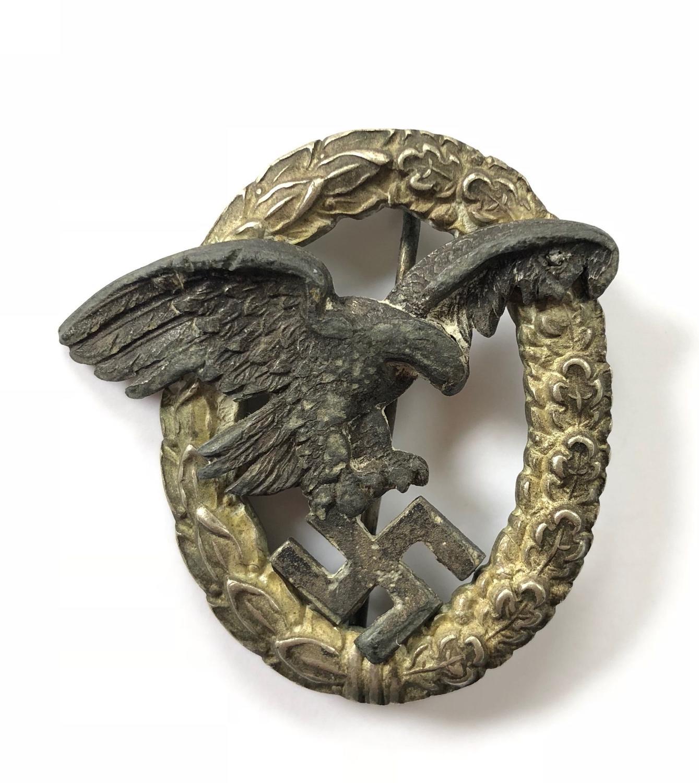 WW2 Luftwaffe Original Observers Breast Badge