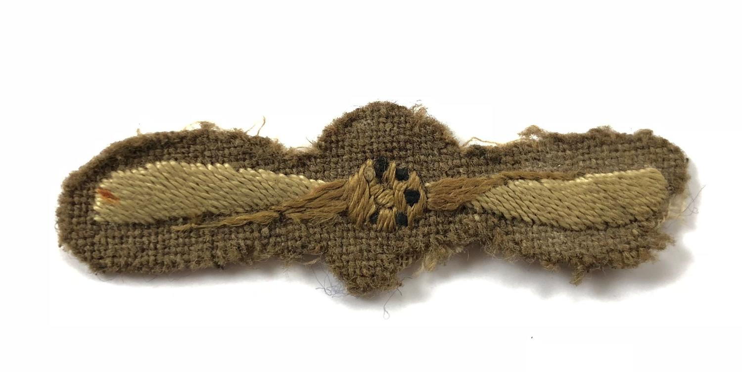 WW1 Royal Flying Corps 1st Class Air Mechanic Rank Badge