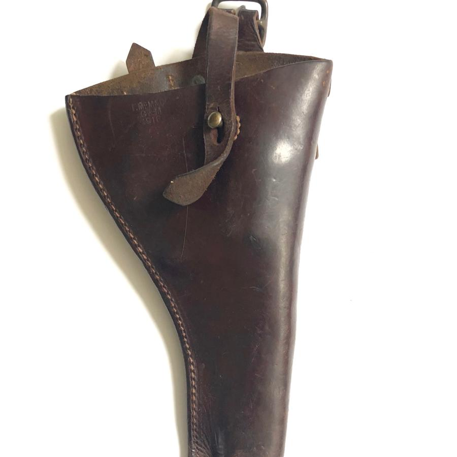 WW1 1914 Leather Equipment 1916 Pistol Holster.