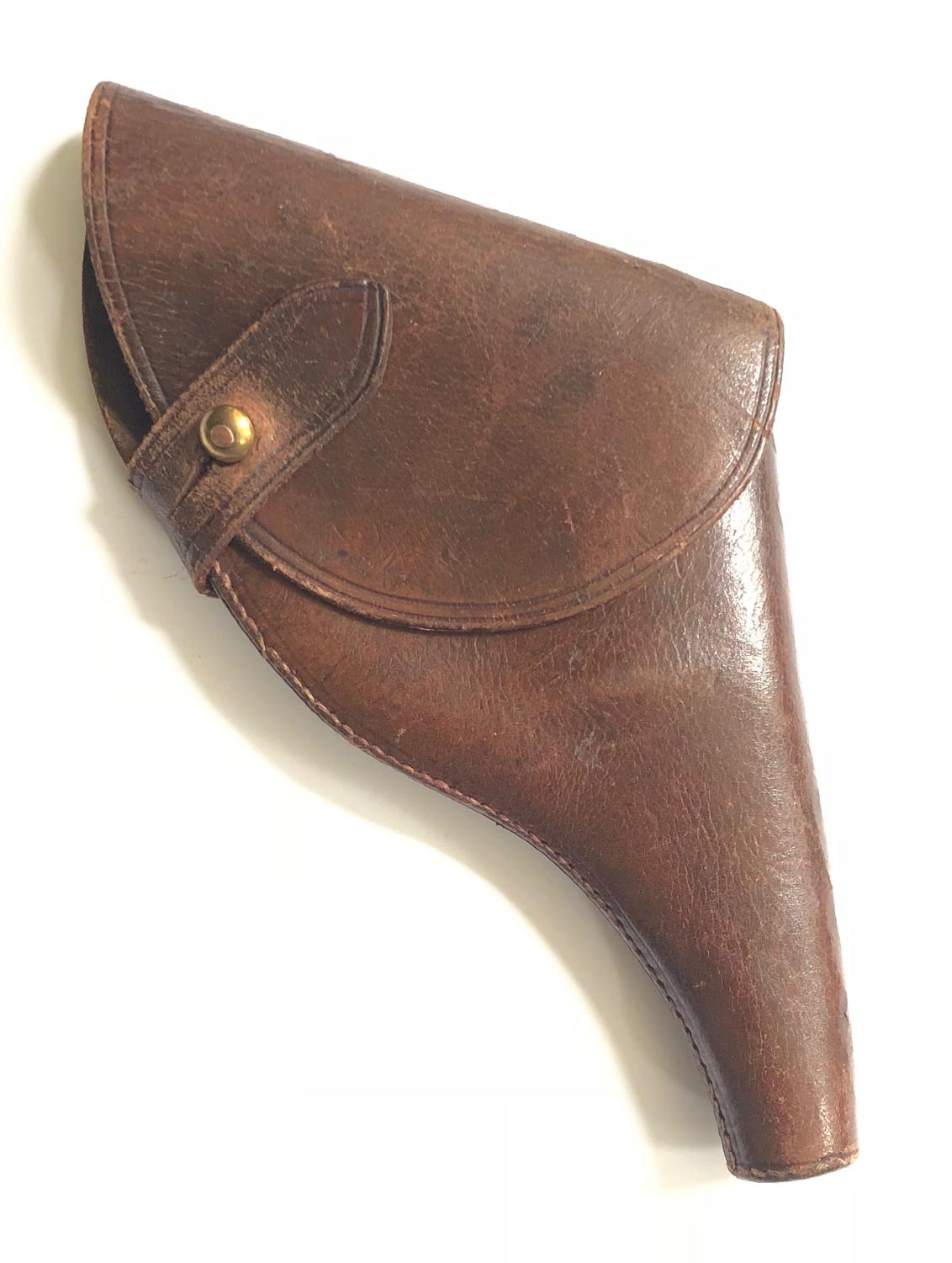 WW1 Unusual British Small Military Pattern Officer's Holster.