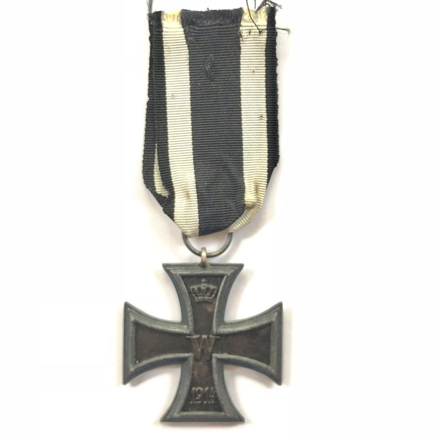 WW1 Imperial German Iron Cross 2nd Class