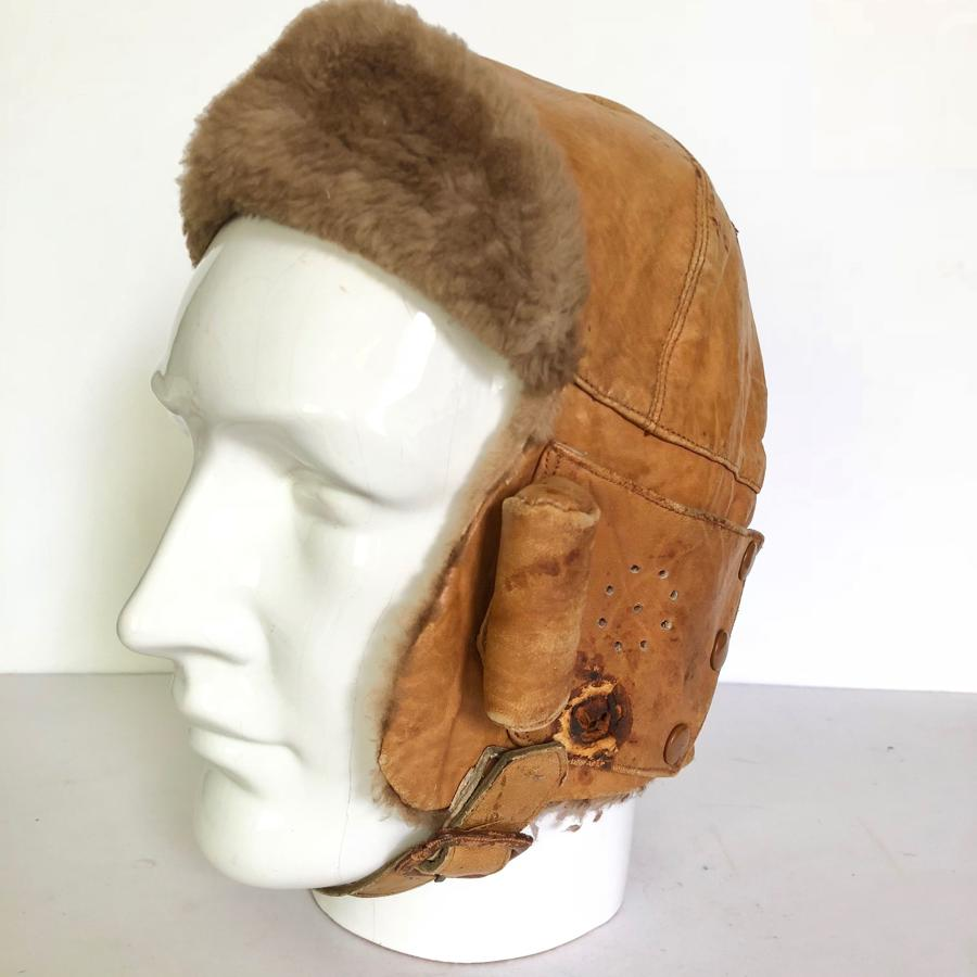 WW1 RFC / RAF MkI War Department Issue Flying Helmet.