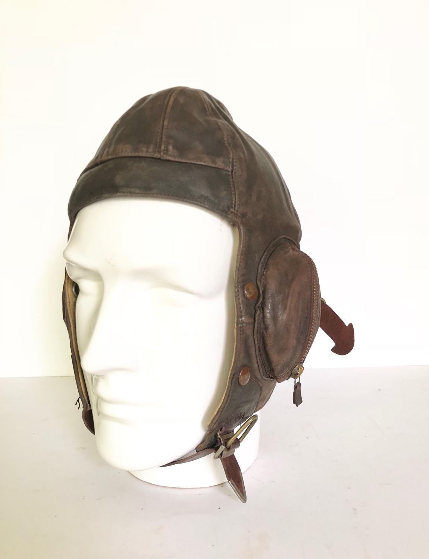 "WW2 RAF ""Battle of Britain"" 1939. B Type Flying Helmet."