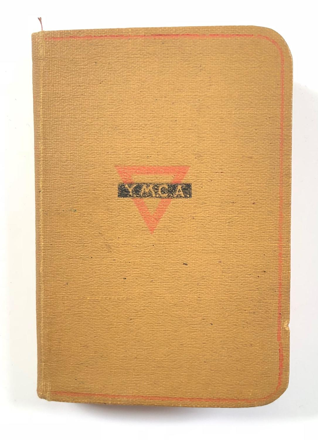 WW1 YMCA Soldiers Pocket Bible.