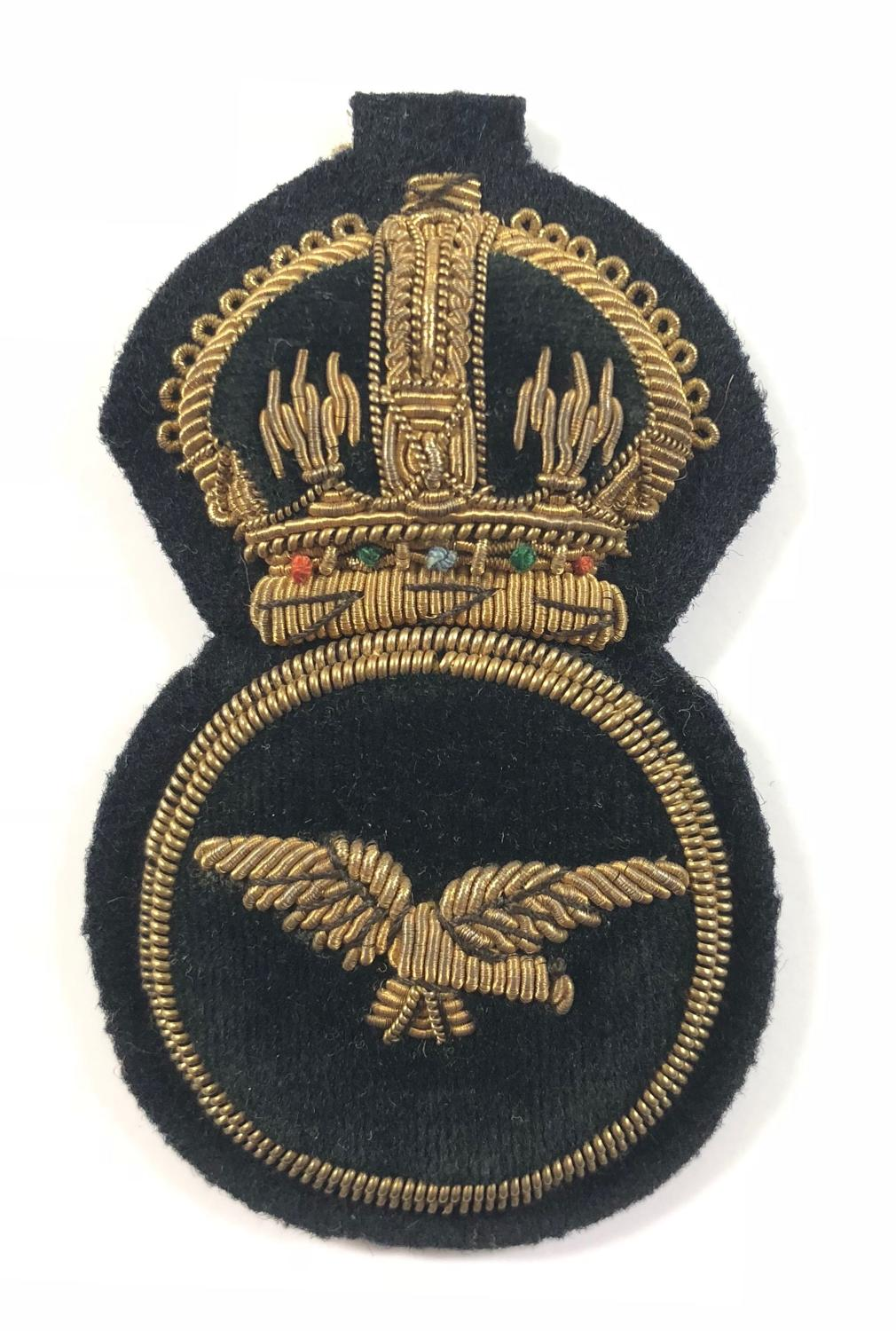 WW1 1918 Royal Air Force Senior NCO Cap Badge.