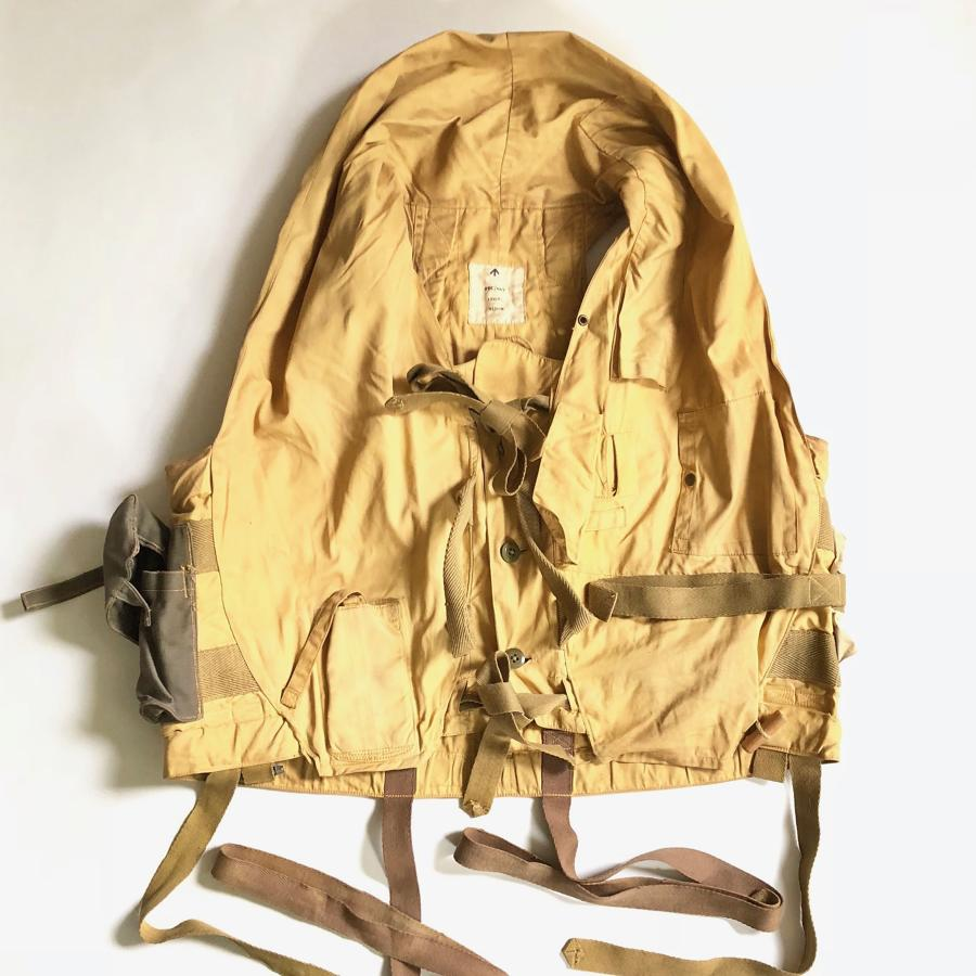 WW2 RAF 1941 Pattern Mae West Life Jacket.