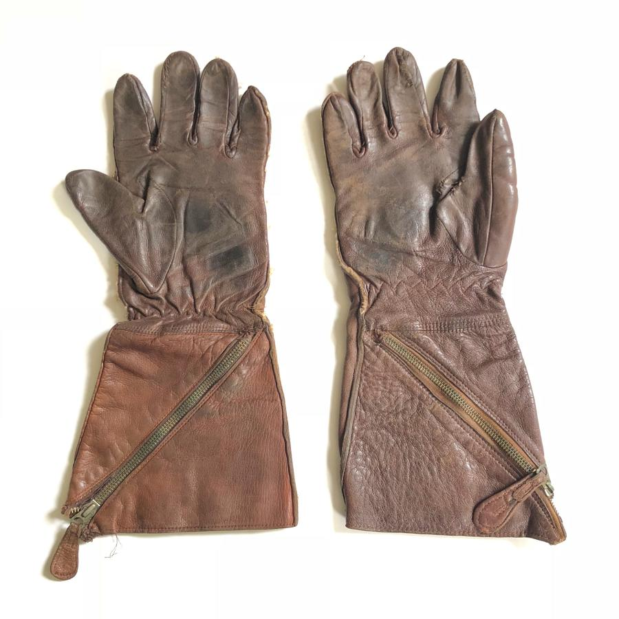 WW2 RAF 1941 Pattern gauntlets.
