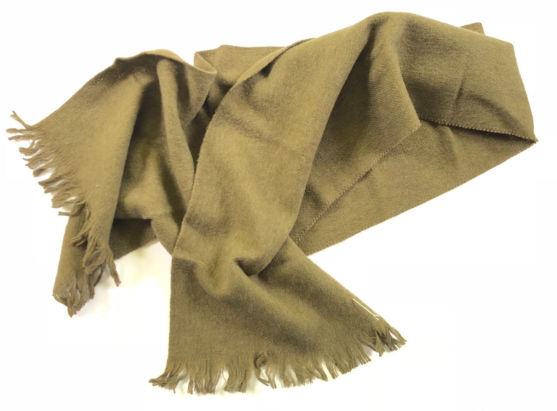 WW1 / WW2 Soldier's Comfort Wool Scarf.