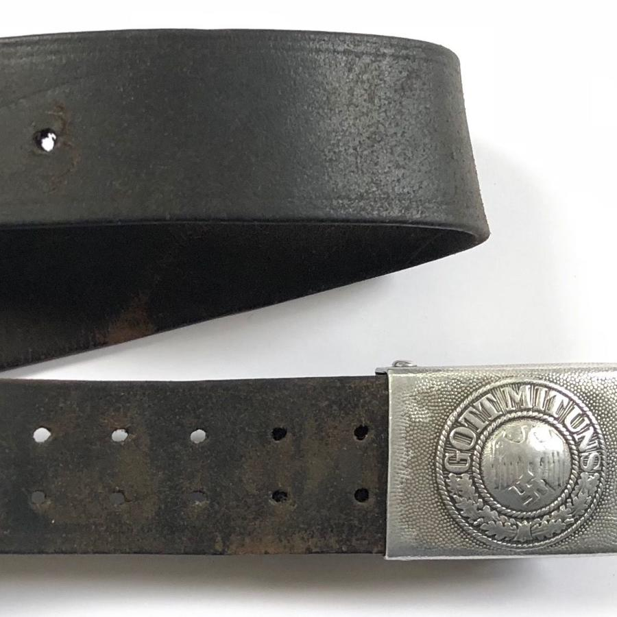 WW2 1938 Dated German Army Belt.
