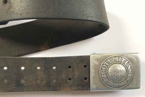 WW2 1938 Dated German Army Belt  in All Items