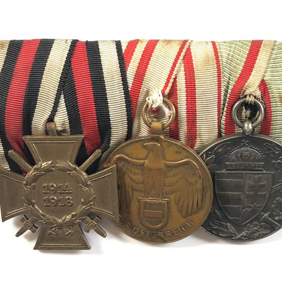 WW1 Imperial German Medal Group.