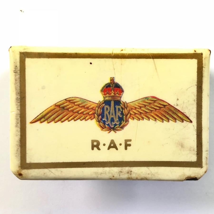 WW2 RAF Matchbox Cover.