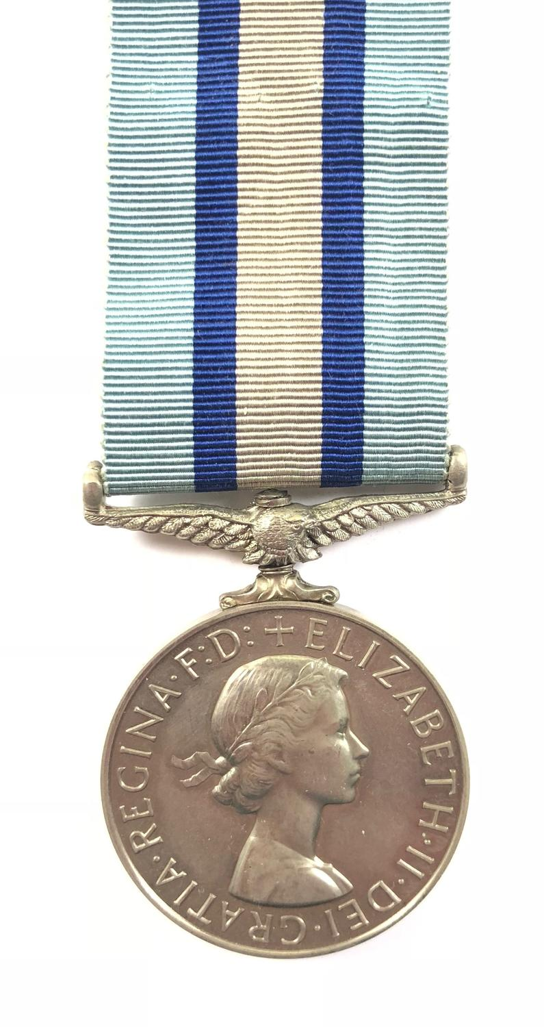 Royal Observer Corps Long Service & Good Conduct Medal.