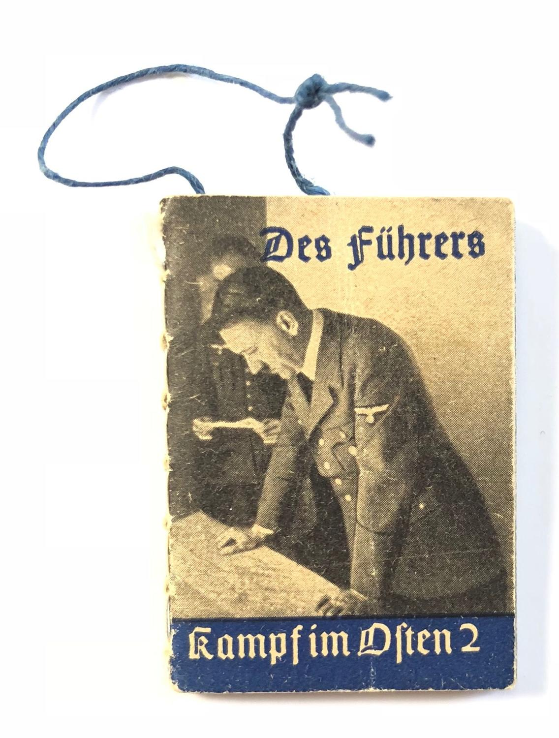 WW2 Nazi German Fundraising Adolf Hitler Booklet.
