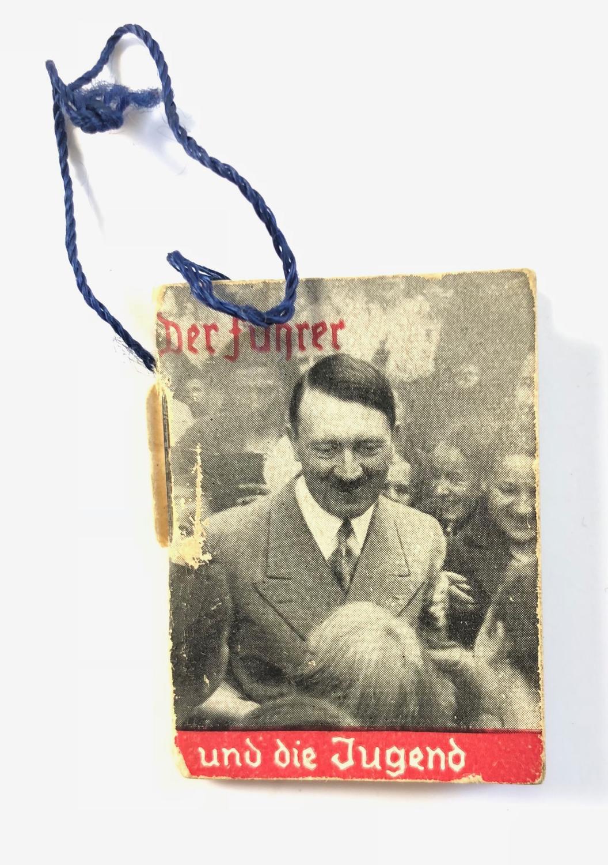 WW2 Nazi German Fundraising Adolf Hitler Booklet.