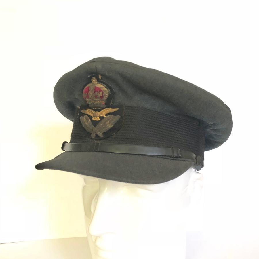 WW2 RAF Officer's Servicedress Cap.