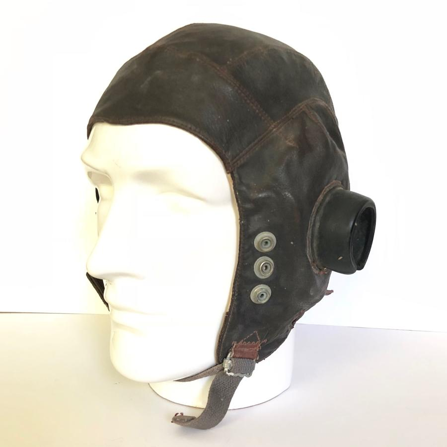 WW2 Period RAF C Type Flying Helmet Large Size 4.
