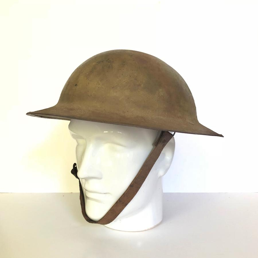 "WW1 British Army ""B"" Pattern Brodie Helmet."