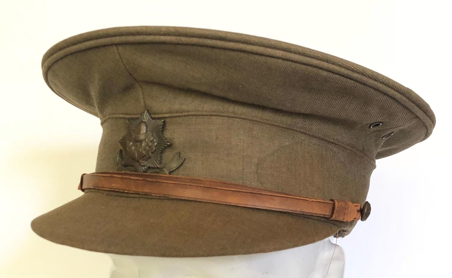 WW1 Cheshire Regiment Officer's Cap.