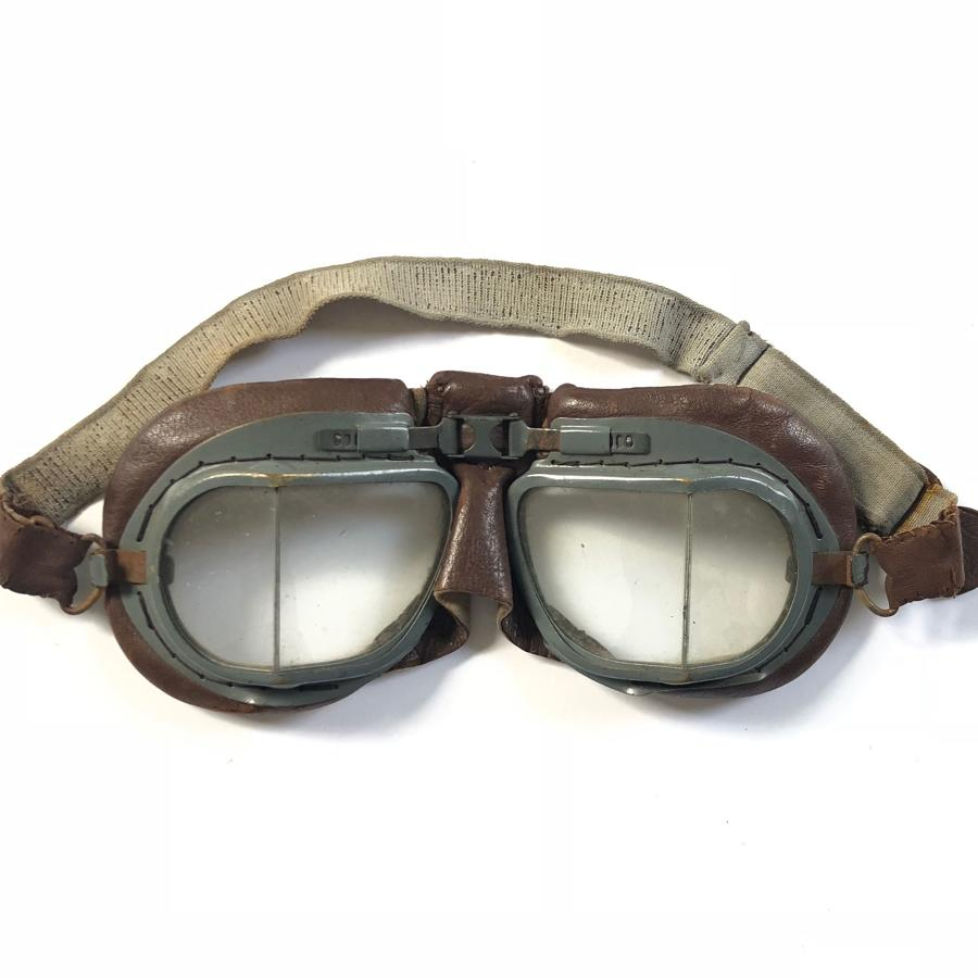 WW2 RAF Aircrew MKVIII Flying Goggles.