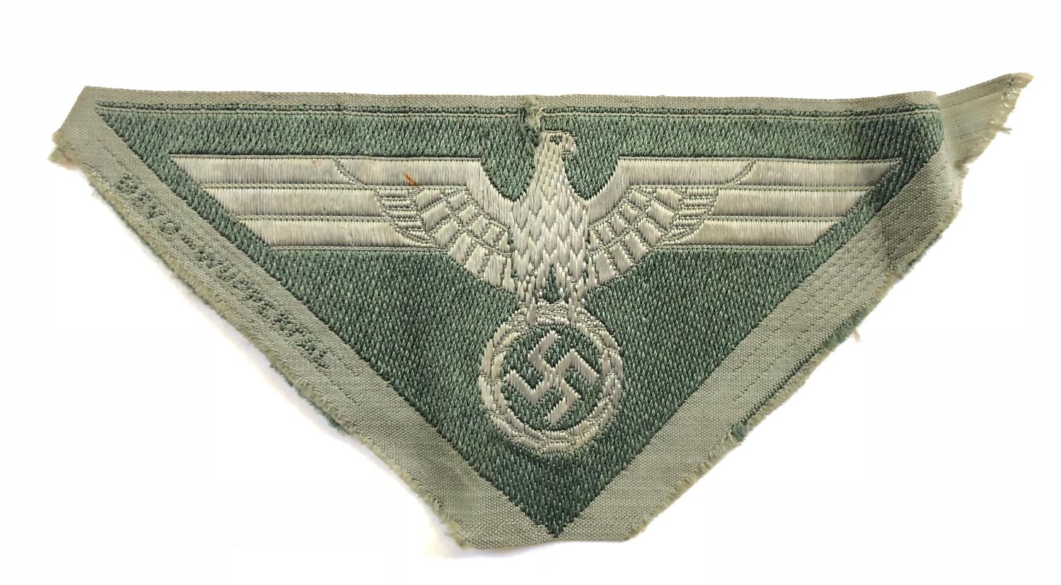 German Third Reich WW2 Army Breast Eagle.