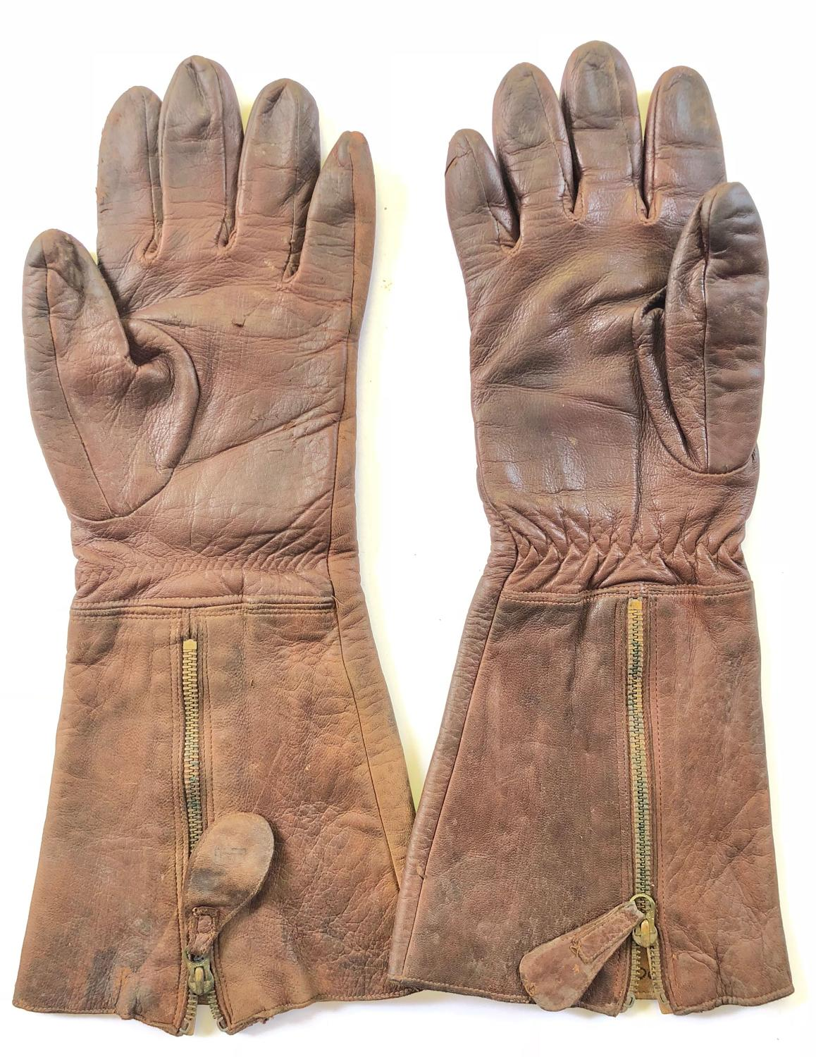 "WW2 RAF ""Battle of Britain"" Period 1936 Pattern Flying Gloves."