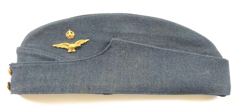 RAF WW2 Officer's Side Cap.