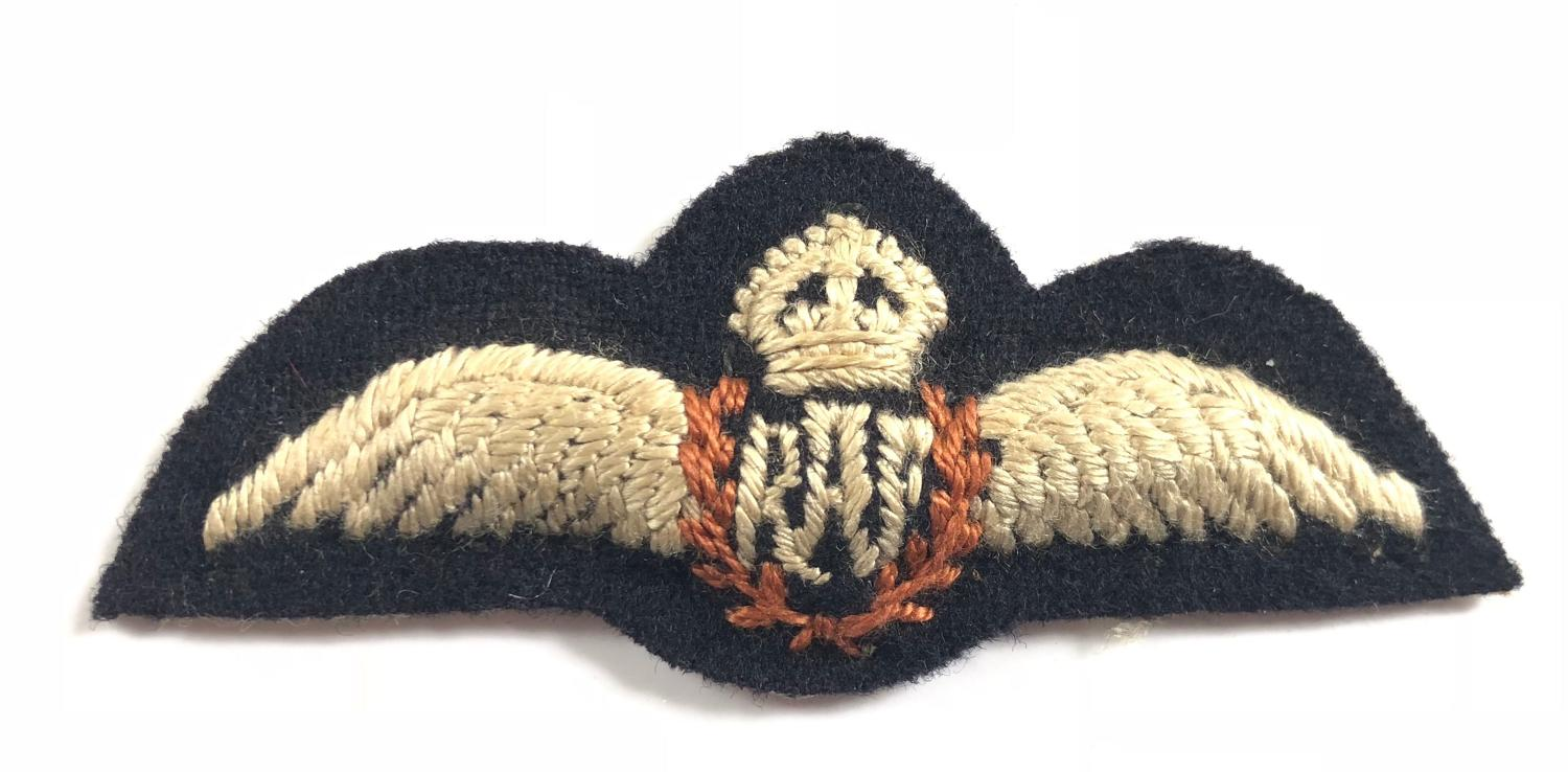 WW2 RAF Miniature Pilots Wings Worn by Foreign Nationals.