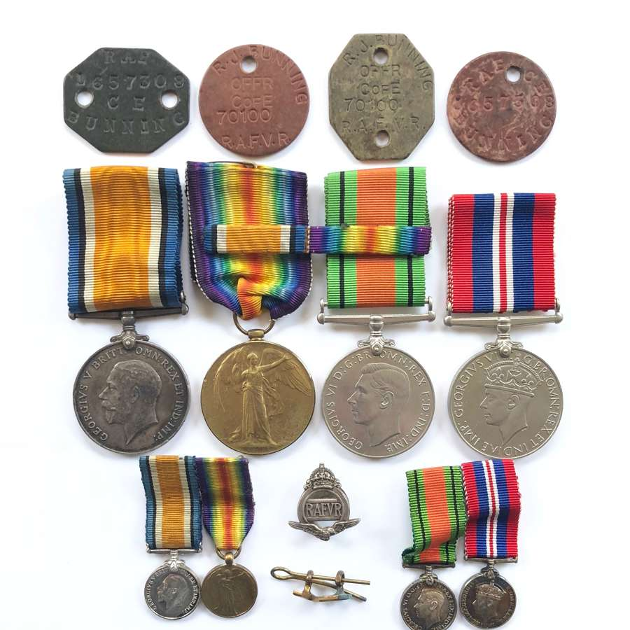 Royal Flying Corps / Royal Air Force Pilots Medal Group.