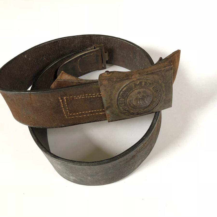 WW1 Imperial German Prussian Infantry Soldiers Belt.