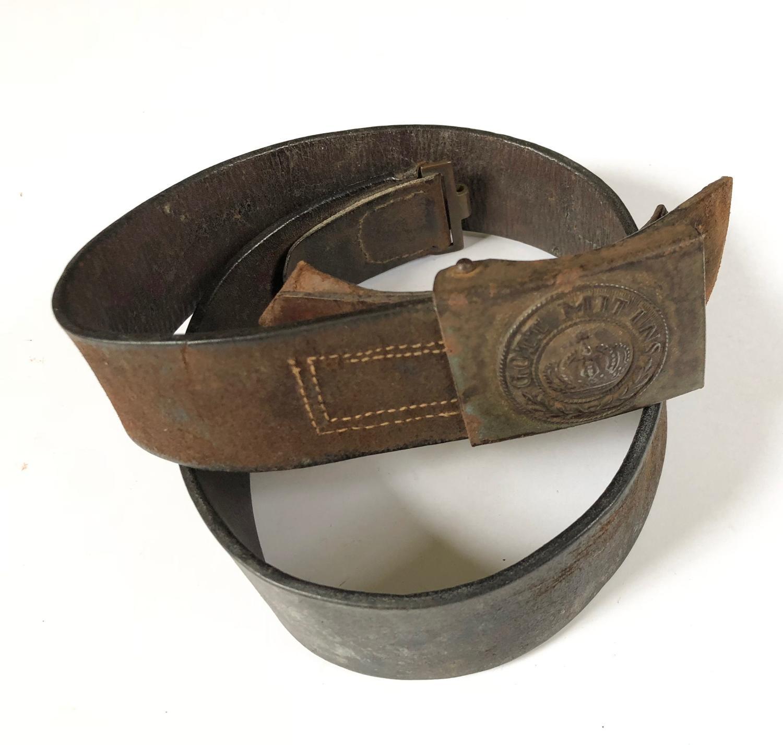 WW1 Imperial German Prussian Infantry Soldiers Belt.