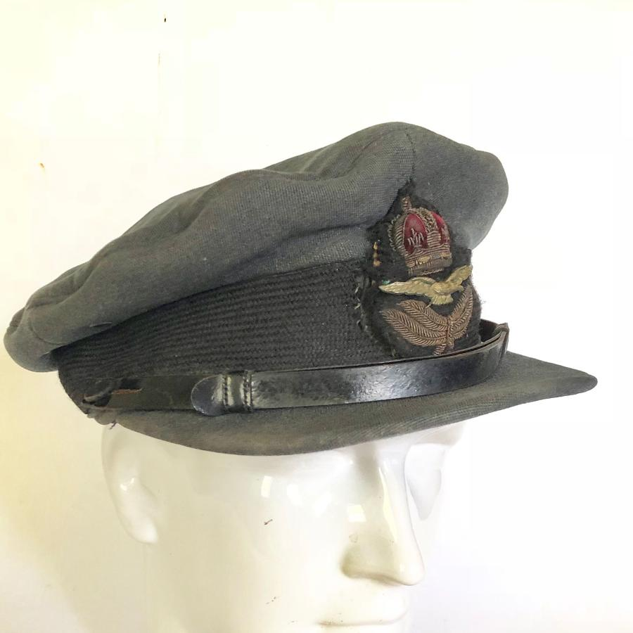 WW2 Period RAF Officer Cap.