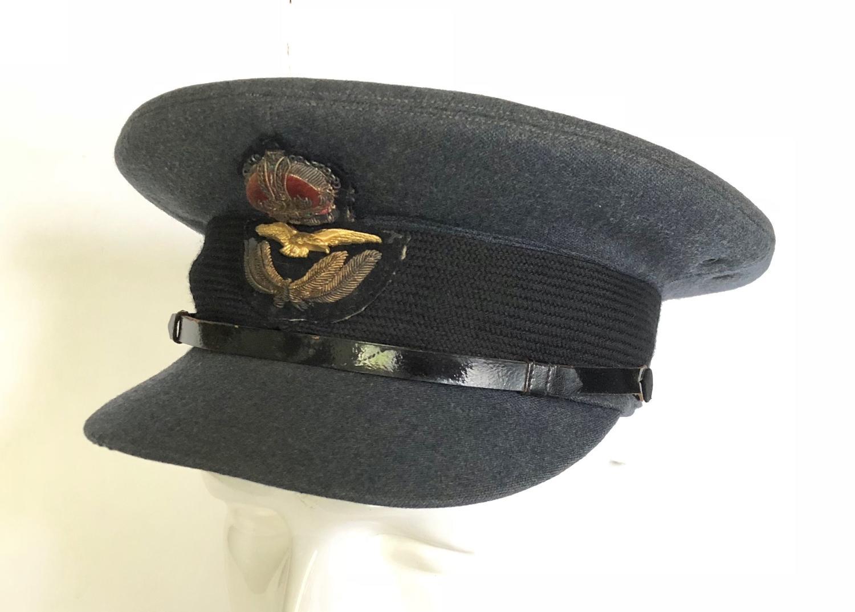 WW2 RAF 1945 Dated Officer's Cap.