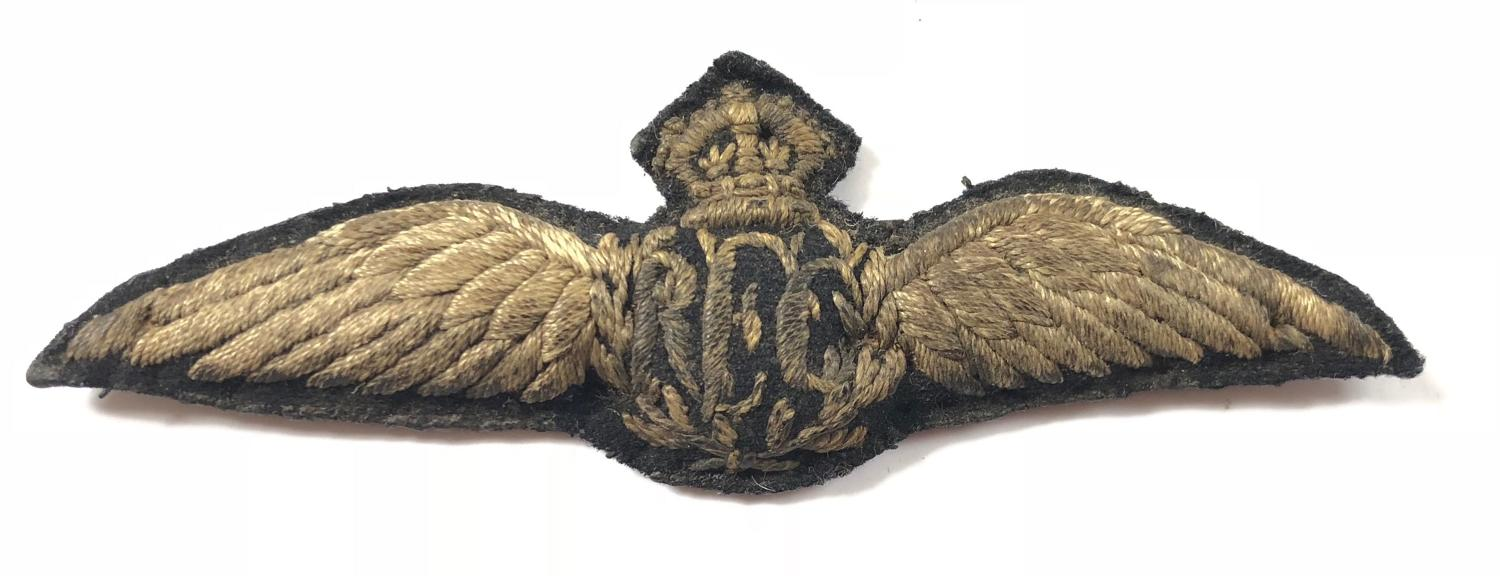 WW1 Royal Flying Corps RFC Pilot Wings.