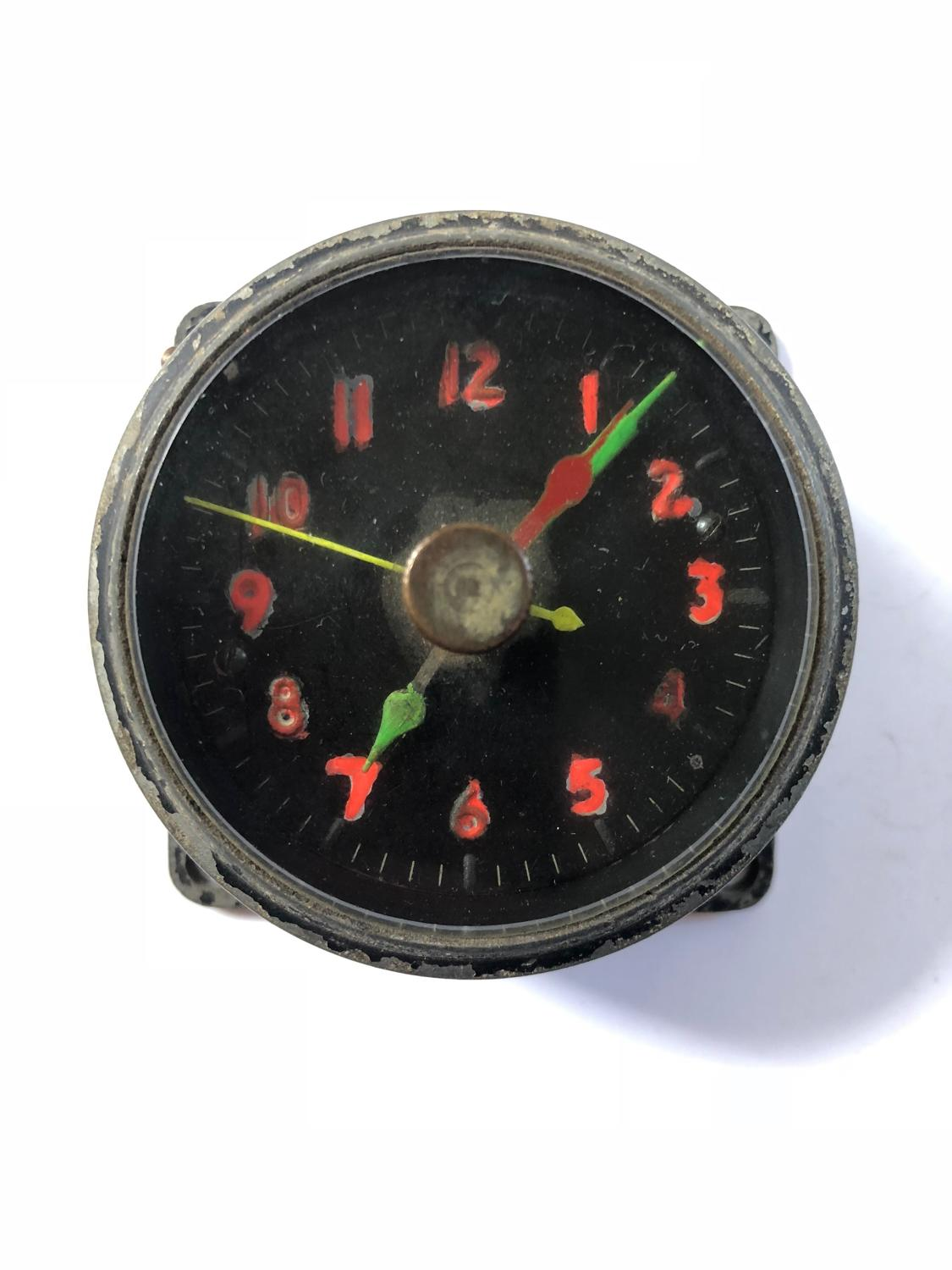 WW2 RAF Aircraft Cockpit Clock.
