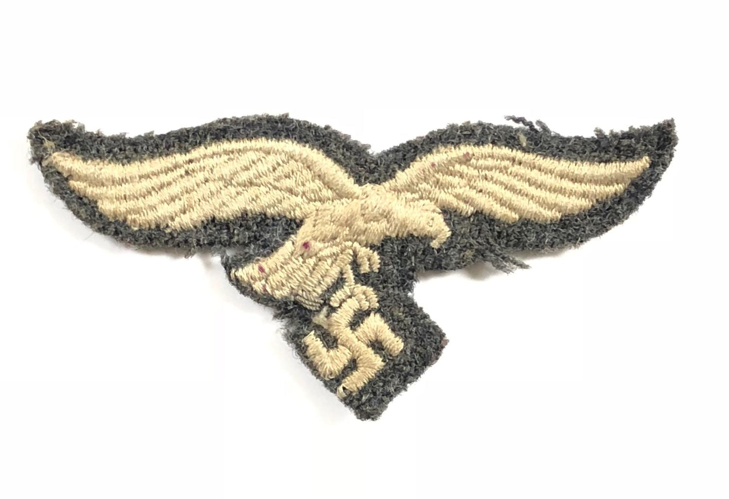WW2 Luftwaffe Side Cap Eagle.