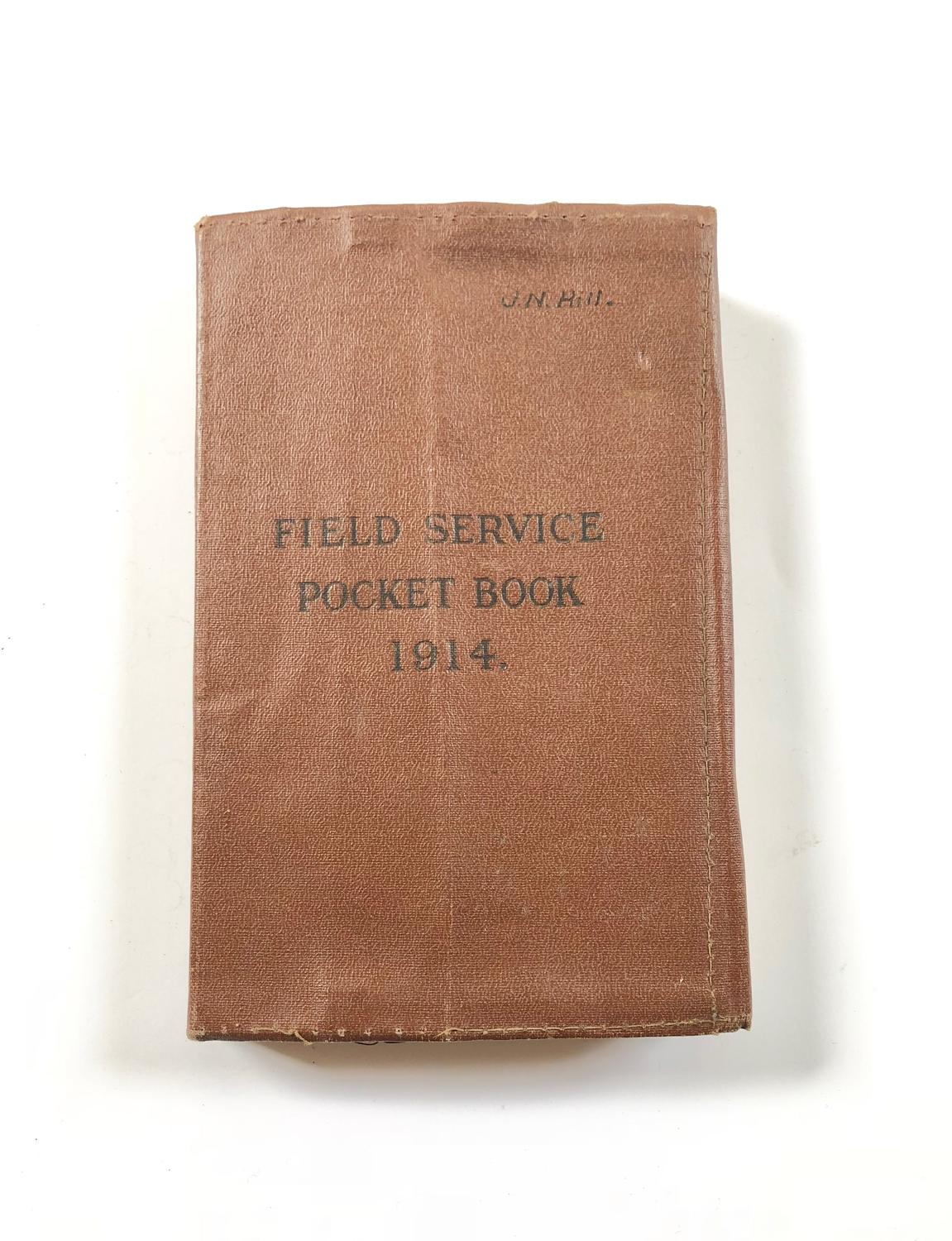 WW1 1914 British Army Field Service Book.