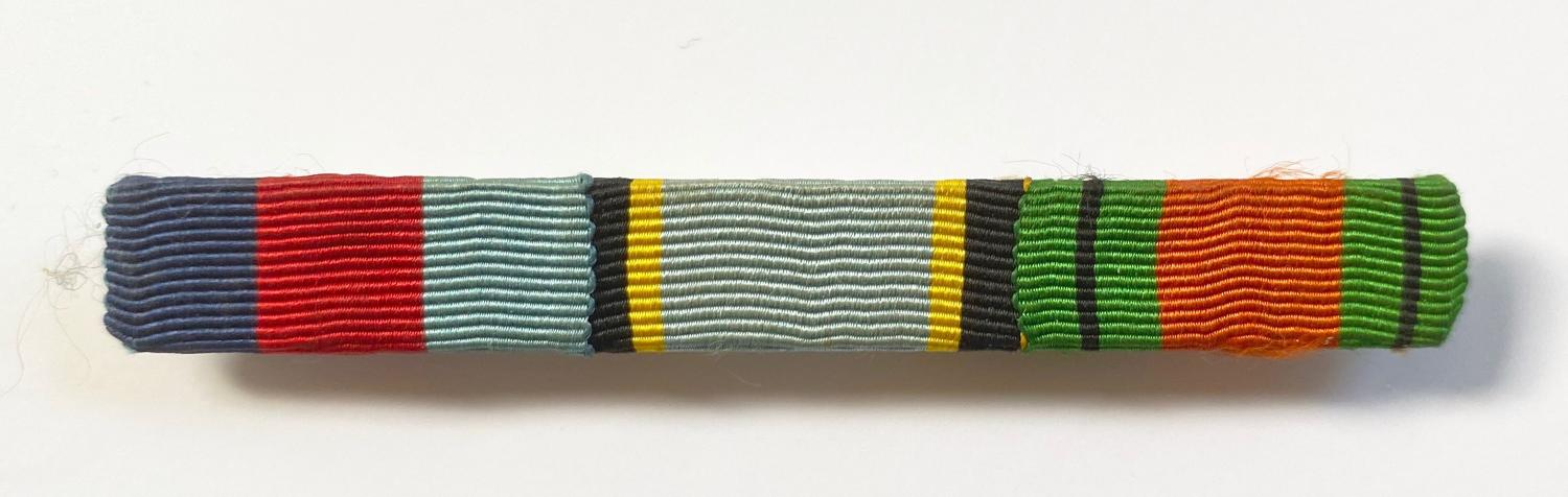 WW2 RAF Aircrew Europe Uniform Ribbon Bar.