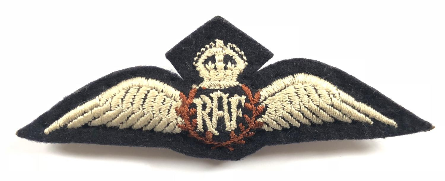 RAF Late WW2 / Cold War Period Pre 1953 Pilot Wings.
