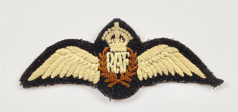 WW2 RAF Pilot Wings.