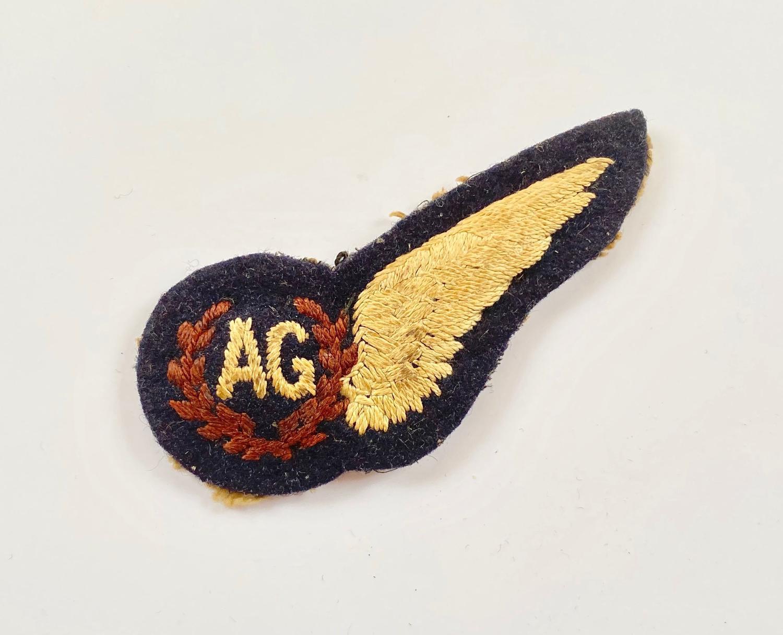 WW2 RAF Air Gunner's Brevet.